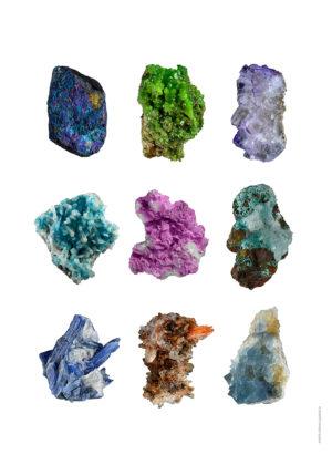 Kollage stenar A4 utan webb