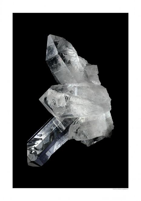 Bergkristall A4 svart liggande webb