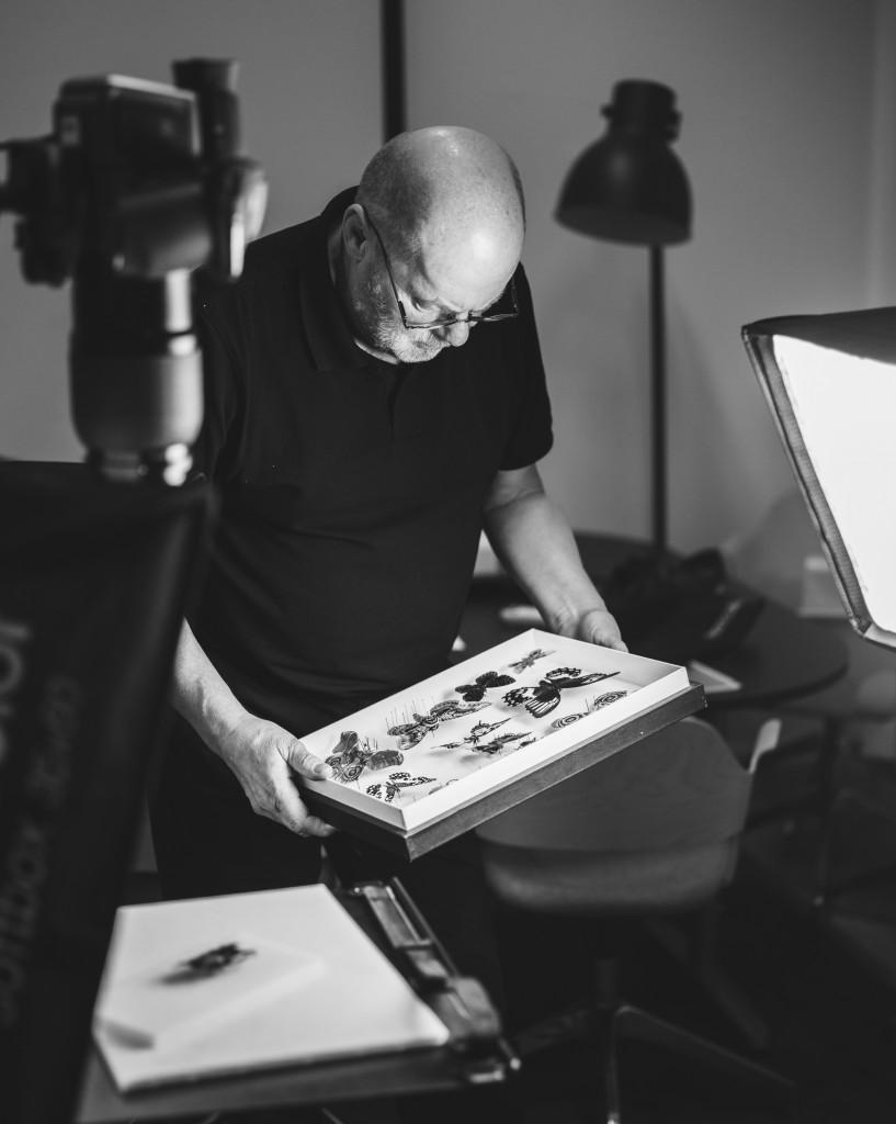 Göran in Hasselblad studio